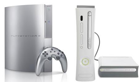 Playstation 3 Blu Ray en Xbox 360 met HD-DVD add-on