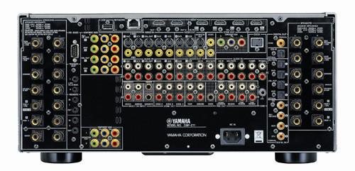 Achterzijde Yamaha DSP-Z11