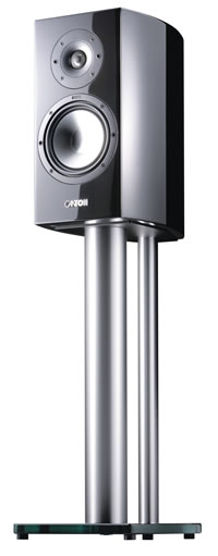 Canton's Compact Vento Reference 9 DC op stand