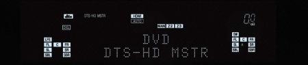 denon AVR-2808 display