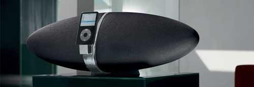 Bowers & Wilkins Zeppelin iPod luidspreker