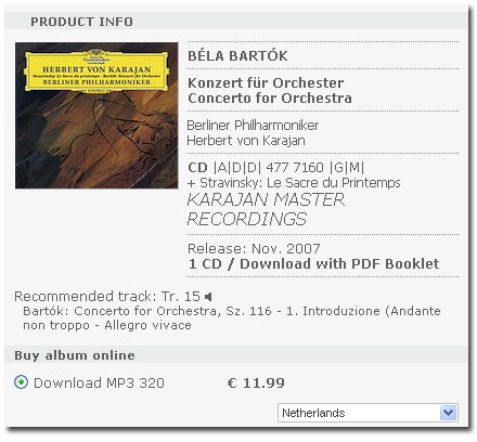 Karajan als download