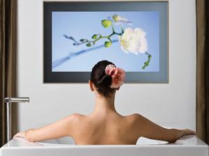 Aquavision badkamer televisie