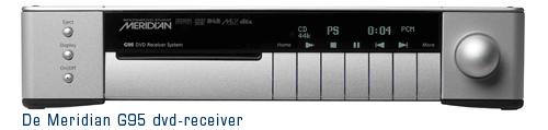 meridian G95 dvd receiver