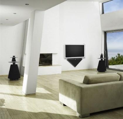 Bang & Olufsen plasma televisie BeoVision 4 met robotarm