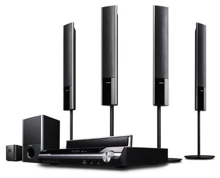 Sony DAV-DZ860 met draadloze luidsprekers