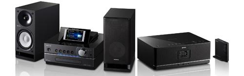 Sony NAS-SC55PKE en NAS-E35H muziekservers