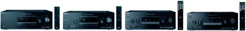 Sony AV receivers op een rij