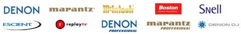 Denon/Marantz groep te koop