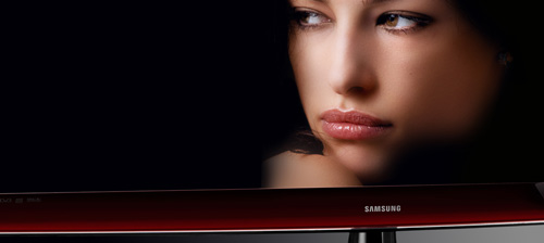 Samsung Crystal Design LCD televisie