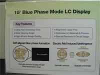 Label van het Blue Phase televisie prototype