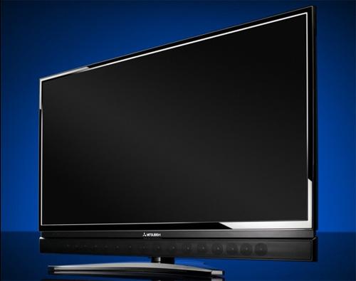 Mitsubishi Lcd Televisie Met Ingebouwde Soundbar Avblog