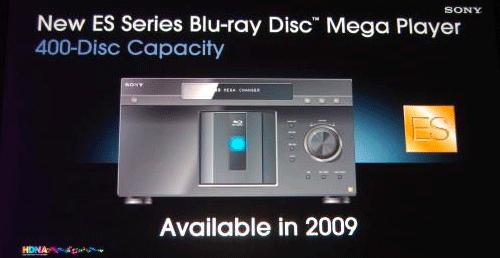 Sony Blu ray mega wisselaars