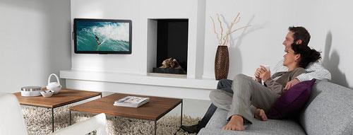 televisie steun voor aan de muur