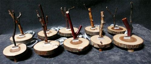 Houten iPod docks van AudioWood