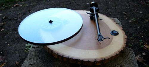 audiowood-platenspeler