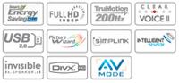 lg-42lh5000-lcd-tv-logos
