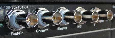 projector-aansluitingen