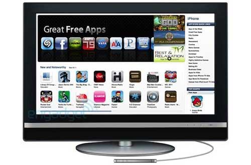 Engadget's interpretatie van de Apple-tv geruchten