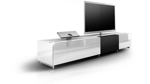 Design Tv Meubel Glas.Spectral Tv Meubel Speciaal Voor Samsung Tv Avblog Hifi Audio