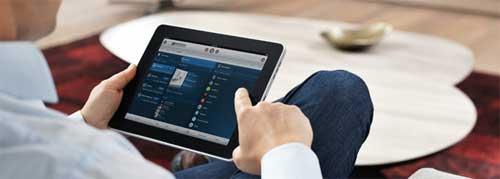 de Sonos iPad controller