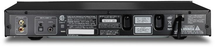 NAD-c516bee-CDspeler-aansluitingen